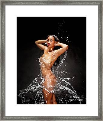 Water Works Love That Dress Framed Print