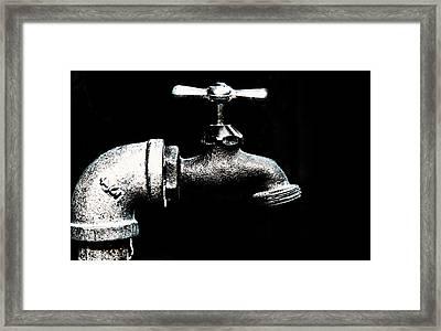 Water Works Framed Print