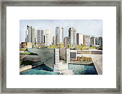 Water World Framed Print by Peter Waters