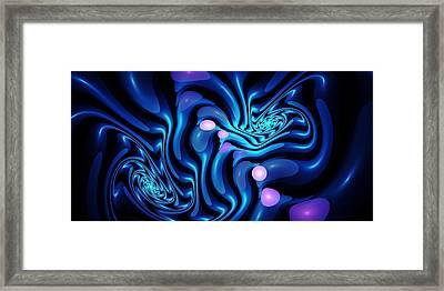 Waterbending Framed Print by Anastasiya Malakhova