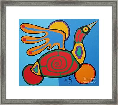 Waterbird Framed Print