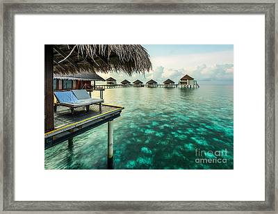 Waterbungolaws Framed Print by Hannes Cmarits