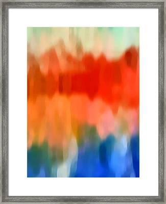 Watercolor 5 Framed Print by Amy Vangsgard
