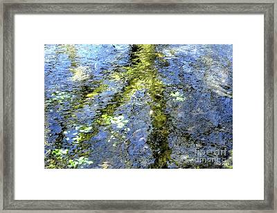 Watercolor Blues Framed Print by Tami Quigley