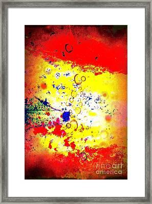 Watercolor Dream Framed Print by Brian Raggatt