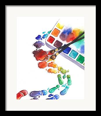Workshop Logo Framed Prints