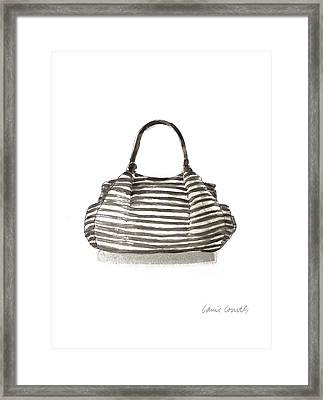 Watercolor Handbags IIi Framed Print