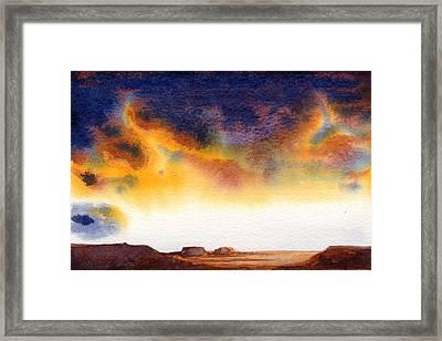 Mesa Framed Print