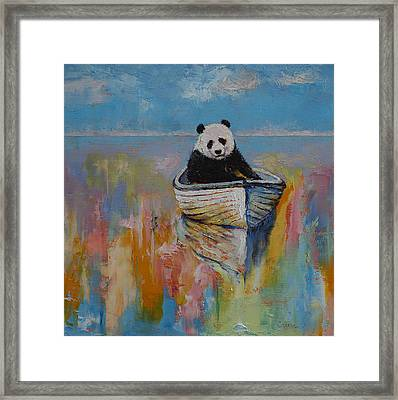 Watercolors Framed Print by Michael Creese