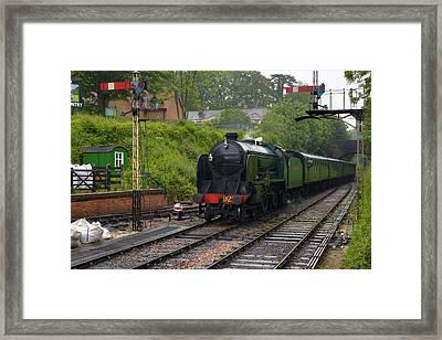 Watercress Line Alresford Framed Print