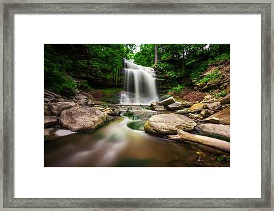 Waterdown Falls - 01 Framed Print