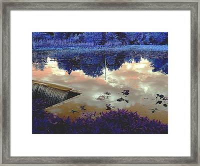 Waterfall 2 Framed Print by Dietrich ralph  Katz