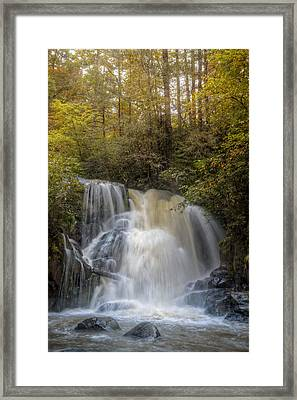 Waterfall After The Rain Framed Print