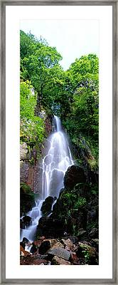 Waterfall Alsace France Framed Print