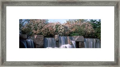 Waterfall, Franklin Delano Roosevelt Framed Print