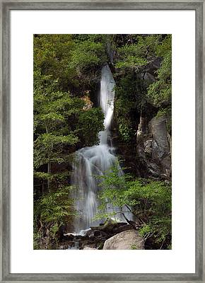 Waterfall Framed Print by Gary Rose