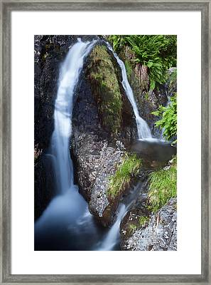 Waterfall Glen Etive Framed Print
