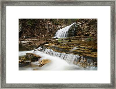 Waterfall - Heading Northwest Framed Print