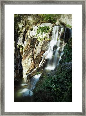 Waterfall I Framed Print by Marco Oliveira