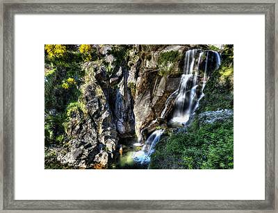 Waterfall IIi Framed Print by Marco Oliveira