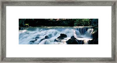 Waterfall In A Forest, Aberfeldy Birks Framed Print