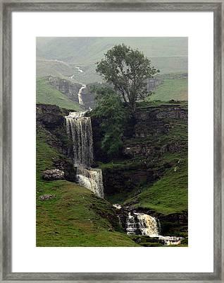 Waterfall Framed Print by John Topman