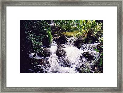 Framed Print featuring the photograph Waterfall by Michele Kaiser