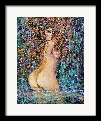 Natalie Holland Art Framed Prints