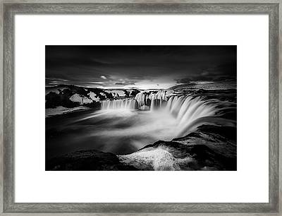 Waterfall Of The Gods Framed Print