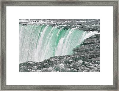 Waterfall Framed Print by Paul Van Baardwijk