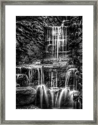 Waterfall Framed Print by Scott Norris