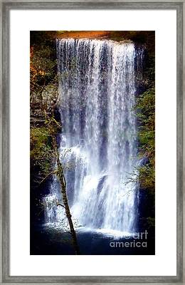 Waterfall South Framed Print