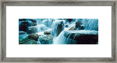 Waterfall Temecula Ca Usa Framed Print by Panoramic Images