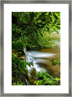 Waterfall Williams River Framed Print by Thomas R Fletcher