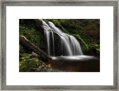 Waterfall Zen Framed Print by Bill Wakeley