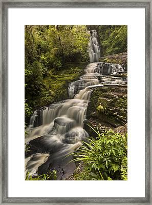 Waterfalls After Rain Mcleans Falls Framed Print