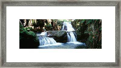 Waterfalls Hilo Hi Framed Print by Panoramic Images