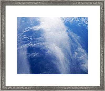 Waterfalls In The Sky Framed Print