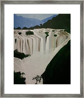 Waterfalls Framed Print
