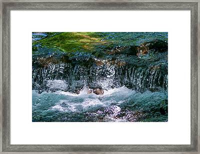 Waterflow Framed Print