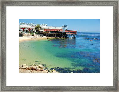 Waterfront At Cannery Row Framed Print