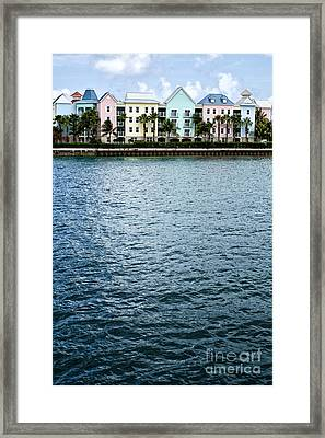 Waterfront Colors Framed Print