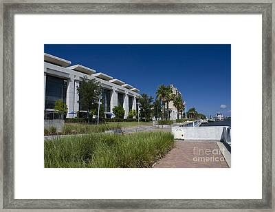 Waterfront Convention Center Framed Print