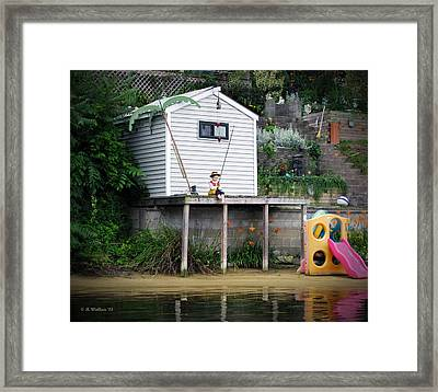 Waterfront Decor Framed Print by Brian Wallace