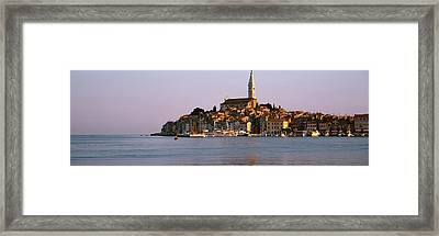 Waterfront, Rovinj, Croatia Framed Print by Panoramic Images