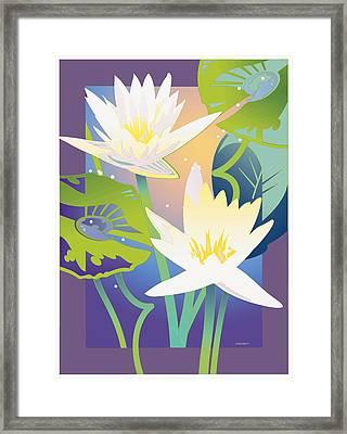 Waterglow Framed Print