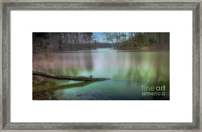 Waterlogged Pe Framed Print