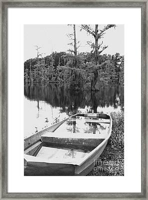 Waterlogged Framed Print by Scott Pellegrin