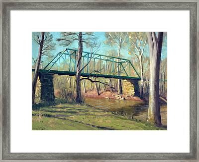 Waterloo Bridge Morning Framed Print by Armand Cabrera