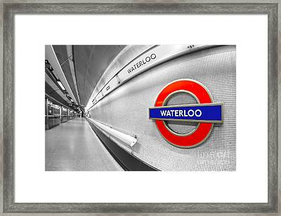 Waterloo Framed Print